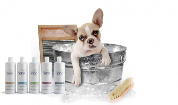 Dog body wash Spina Organics